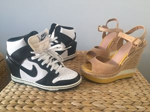 Day & Night! Women's wedges & Nike (6.5) for Sale in Washington, DC