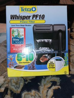 tetra whidper PF10 power filter for Sale in Colton,  CA