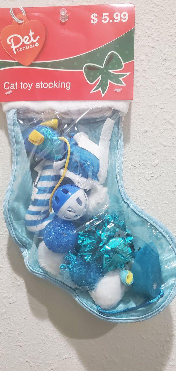 Cat 🐈 Toy Christmas 🎄 Stocking