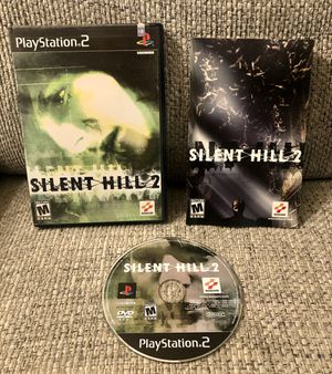 Silent Hill 2 (Sony PlayStation 2, PS2, 2002) Complete Black Label - NM DISC for Sale in Fresno, CA