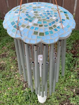 Artisanal Mosaic Mirrors & Bamboo Wind Chimes Sun Carcher Mobile for Sale in Nashville, TN