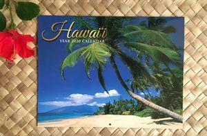 HAWAII BIG ISLAND 2020 Wall Calendar Hawaiian Tropical Beach Ocean Lava for Sale in Kailua-Kona, HI