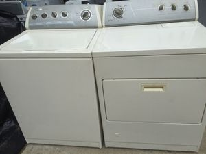 Whirlpool washer and gas dryer. Good condition & delivery available at a charge. for Sale in Merchantville, NJ