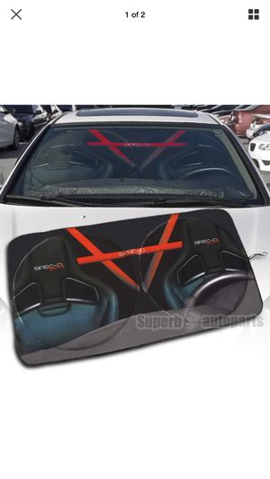 (Spec R) Sunshade windshield cover New! for Sale in Moreno Valley, CA