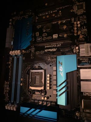ASrock z97 extreme 4 motherboard for Sale in Raleigh, NC