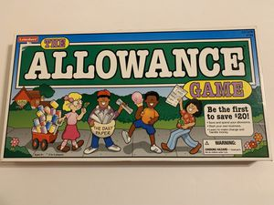 The Allowance Educational Money Savings Game - Family Kids Board Game for Sale in Katy, TX