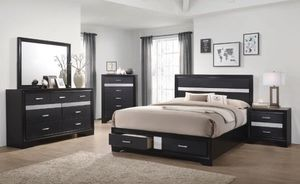 4-pcs queen bedroom set on sale only at elegant Furniture 🎈🛋 for Sale in Fresno, CA