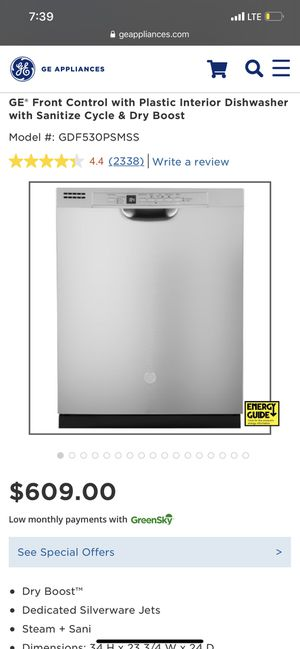 GE Dishwasher for Sale in St. Cloud, FL