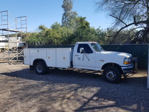 Ford F450 7.3 Turbo Diesel with utility bed for Sale in Phoenix, AZ