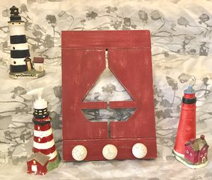 Nautical wood lighthouses decor set for Sale in San Marcos, CA