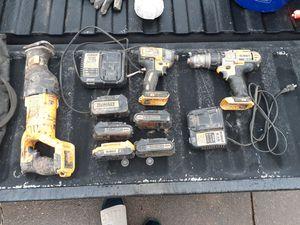 20 volt dewalt kit for Sale in Fayetteville, AR