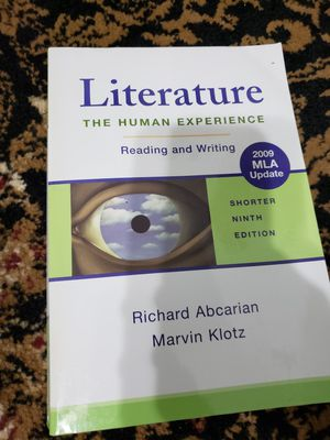 Literature the Human Experience for Sale in Pembroke Pines, FL
