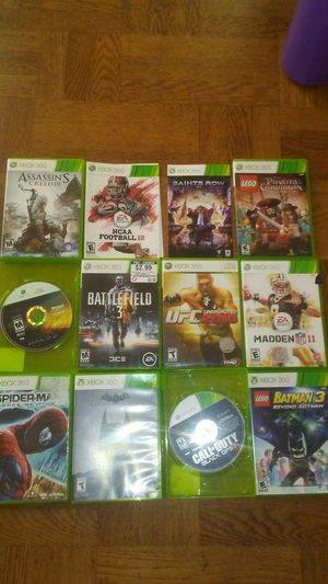Xbox 360 games for Sale in Daly City, CA