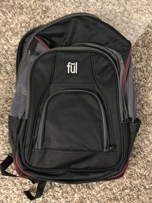 Great FUL backpack. Fits 15 inch laptop for Sale in San Mateo, CA