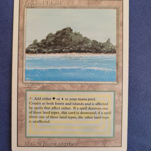 Tropical Island MTG Revised LP for Sale in Seattle, WA