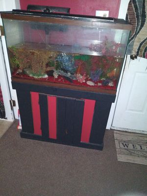 Fish tank n stand for Sale in Ossian, IN