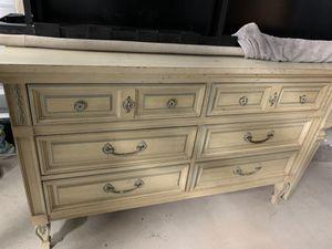 Vintage Dresser, Vanity and Nightstand for Sale in Katy, TX