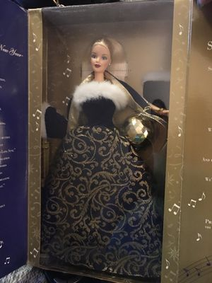 New Years Barbie collectible for Sale in Port St. Lucie, FL