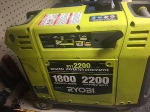 RYOBI GENERATOR RY12200 for Sale in Scottsdale, AZ