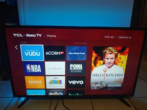 "36"" TCL Roku smart TV! for Sale in Tempe, AZ"