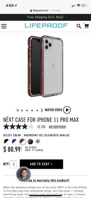 NËXT CASE FOR iPHONE 11 PRO MAX for Sale in Emmaus, PA