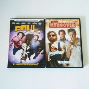 Paul & Hangover DVD Movies.. I can do shippings for Sale in Longmont, CO