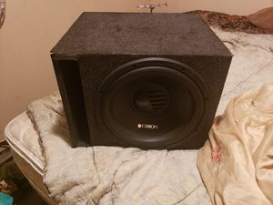 Orion xtr 15 sub and ported box for Sale in Cape Coral, FL