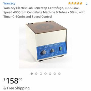 LD-3 bench top centrifuge + tubes for Sale in Kalamazoo, MI