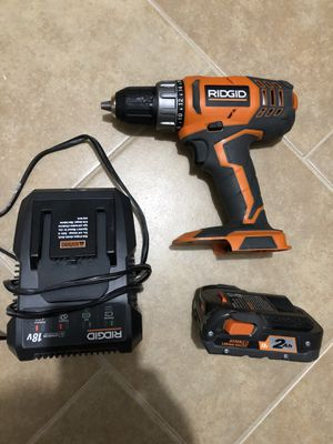 Ridgid drill set for Sale in Dallas, TX