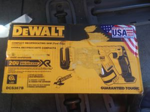 Dewalt XR top of line for dewalt compact reciprocating saw tool only for Sale in Portland, OR
