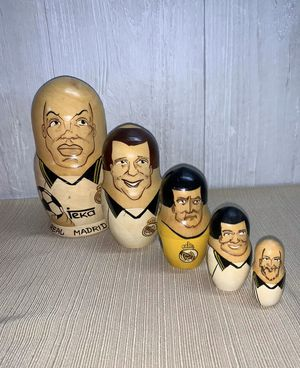 Real Madrid Nesting Dolls collectable for Sale in San Juan Capistrano, CA