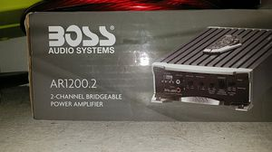 Boss 2 channel bridgeable amp for Sale in US