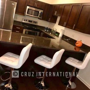 New 3 White Stools for Sale in Orlando, FL