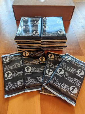 Topps Bowman 1st Edition 24 packs for Sale in Falls Church, VA