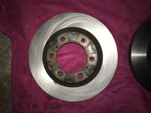 Front Rotors Toyota 4 Runner 2013. $100 dlls both Original part not Aftermarket Autozone or any store. Autozone sell $90 dlls a pice pluts tax. for Sale in Phoenix, AZ