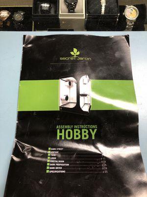 SECRET JARDIN HOBBY GROW TENT for Sale in Taylor, MI