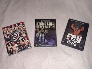 WWE DVDS $15 For All for Sale in Winter Haven, FL