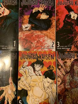 JuJutsu Kaisen manga Vol1-6 for Sale in Fresno,  CA
