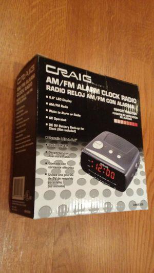 Craig AM/FM Alarm Clock for Sale in Lansdowne, VA