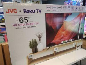 "65"" JVC rOKU smart 4K led uhd hdr Tv for Sale in Las Vegas, NV"