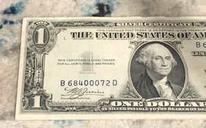 Blue Seal Silver Certificate for Sale in Austin, TX