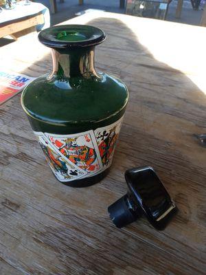 Vintage emerald decanner for Sale in Port Orange, FL