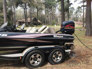 2001 TR20 Triton, Trade for Center Console boat for Sale in Wetumpka, AL