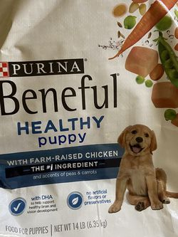 14 Pound Bag Of Bentiful Puppy Dog Food for Sale in Philadelphia,  PA
