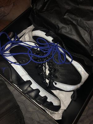 Jordan 9 boots worn twice for Sale in Washington, DC