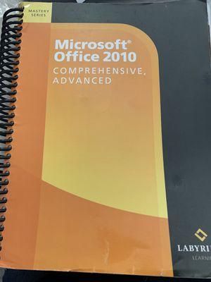 Microsoft office 2010 books for Sale in Pueblo, CO