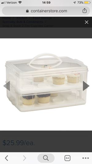 Cupcake holder transport for Sale in Worcester, MA