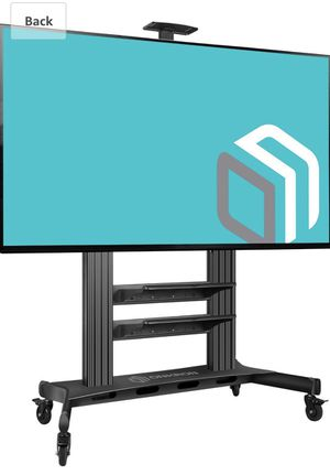 ONKRON Mobile TV Stand TV Cart for 60 to 100-Inch Flat Screens up to 300 lbs Black (TS2811P) for Sale in Upland, CA