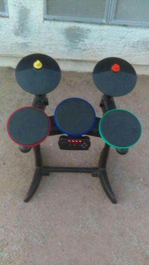 Rock Band Drums - Toms & Cymbals for Play Station 2 for Sale in Phoenix, AZ