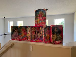 Brand new Barbie collection 7 Barbies for Sale in Poinciana, FL